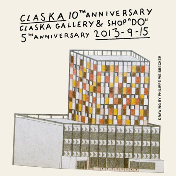 """CLASKA オープン10周年<br>CLASKA Gallery & Shop """"DO"""" 5周年<br>interior & furniture CLASKA 本格スタート<br>記念感謝祭"""