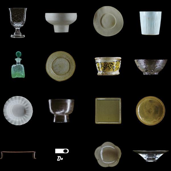 「うちの食器棚」展<br>赤木家の食器棚が語るうつわ作家30年史