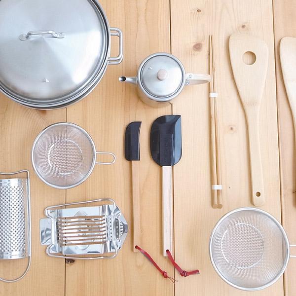 工房アイザワのキッチン道具展