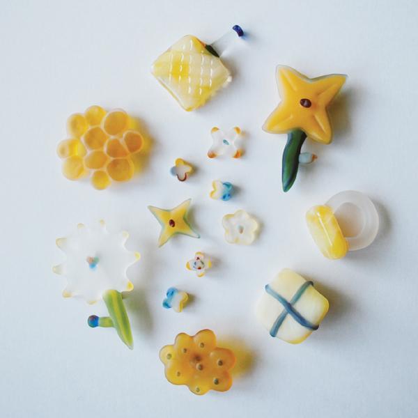 chika yamazaki 2014<br>warm yellow