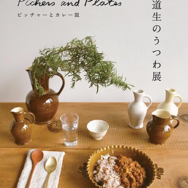 竹田道生のうつわ展 ピッチャーとカレー皿