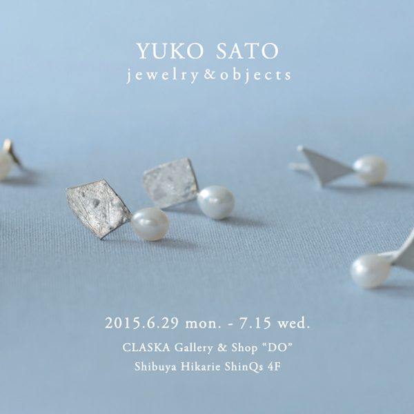 YUKO SATO jewelry & objects / PEARL