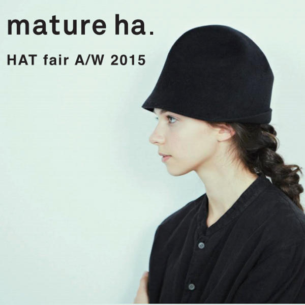 mature ha.<br>HAT fair A/W 2015