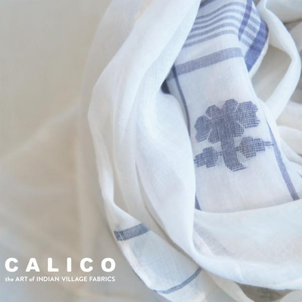 CALICO 風織布 インド ベンガルの村より
