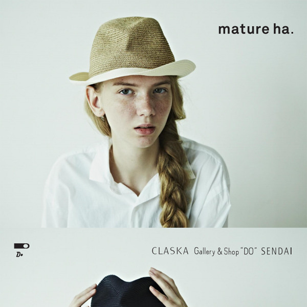 mature ha.<br>HAT fair S/S 2016