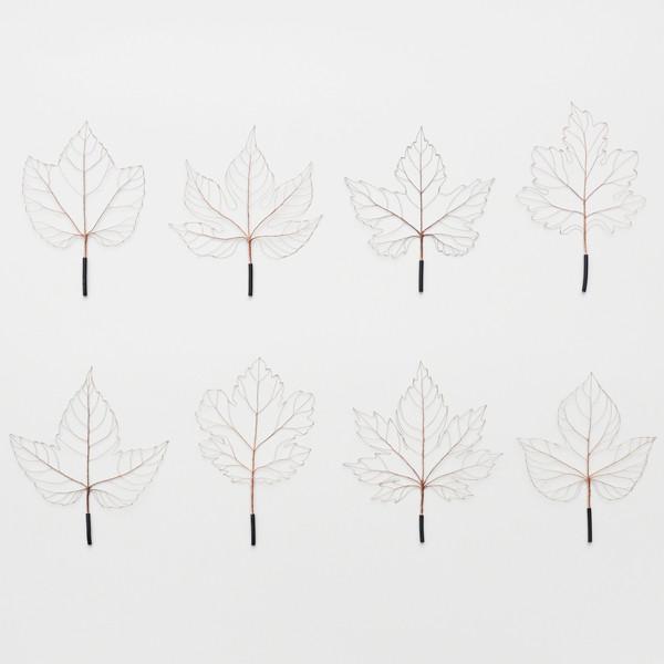 古賀 充 展 leaves