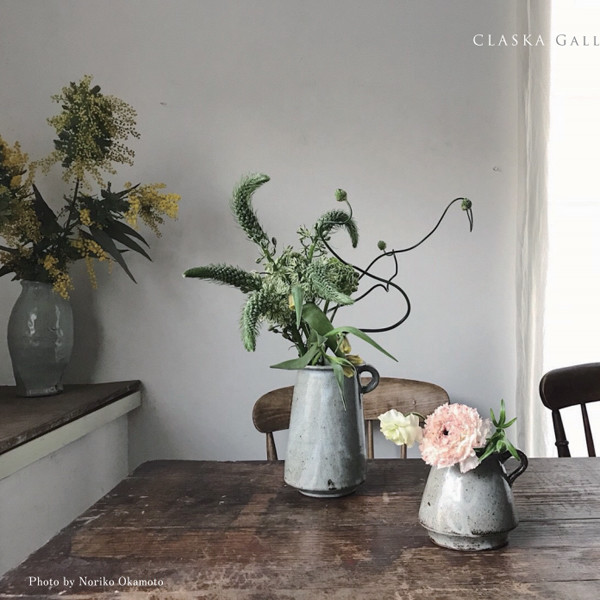 春、暮らす花と器