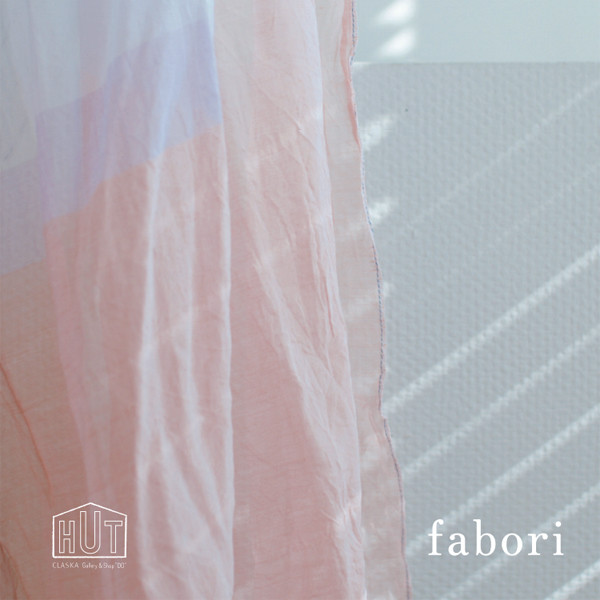 播州織 fabori のストールフェア