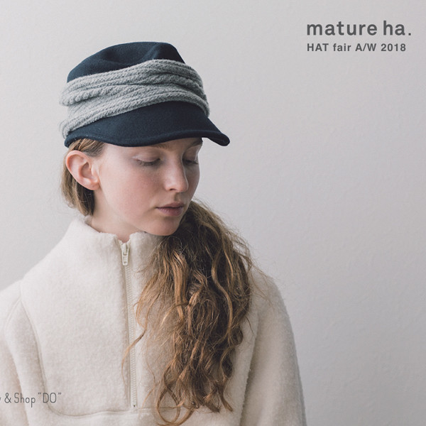 mature ha.<br>HAT fair A/W 2018