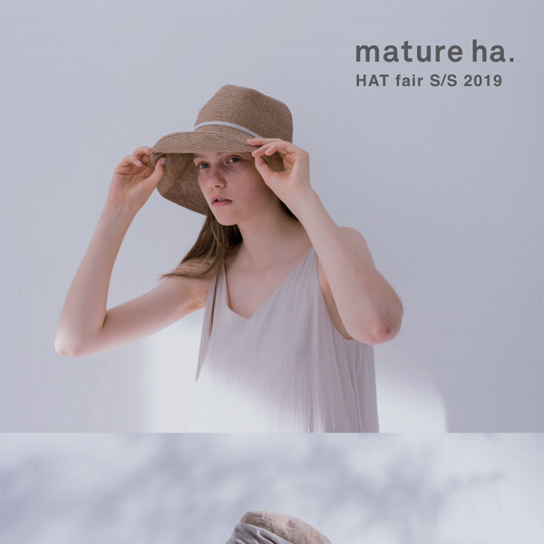 mature ha. HAT fair S/S 2019