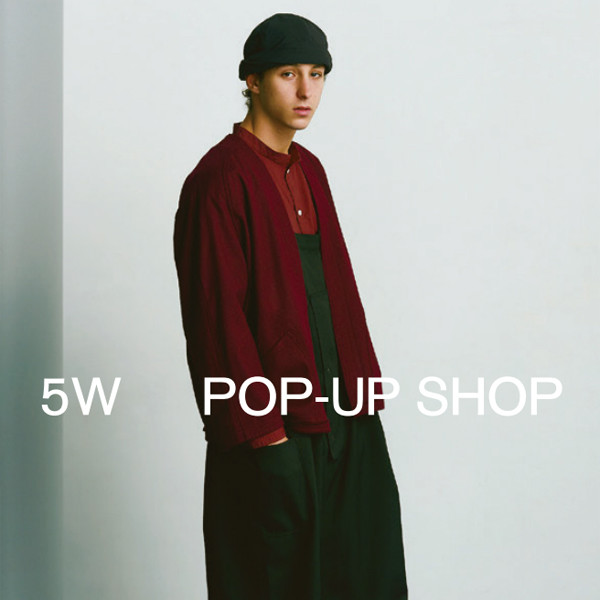 5W POP UP SHOP