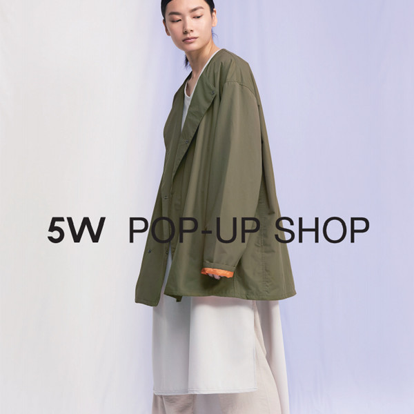 5W POP-UP SHOP