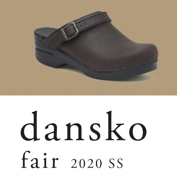 dansko fair 2020 SS(2店舗巡回)