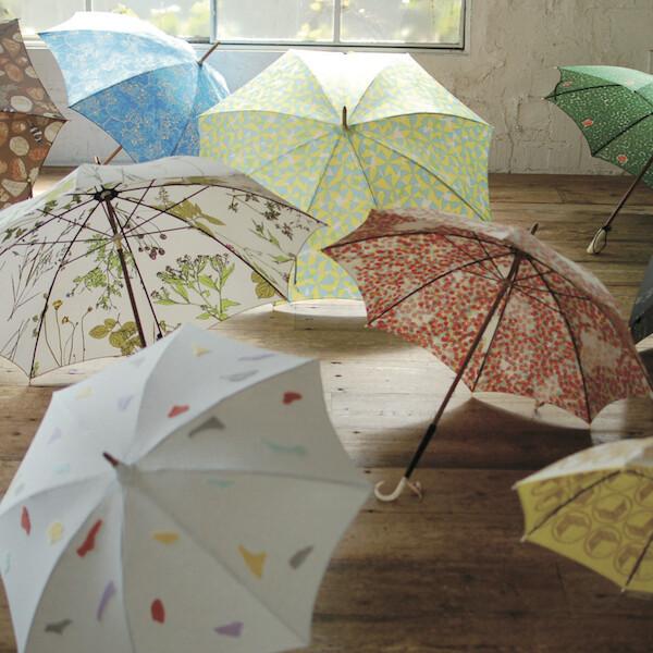 イイダ傘店 秋の傘展