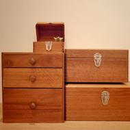 倉敷意匠さんの木の道具箱
