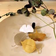 「YUKO SATO jewelry & objects ~秋の気配~」開催中
