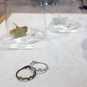 「YUKO SATO jewelry & objects」開催中です