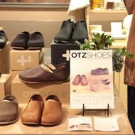 「OTZ SHOES fair」「SATO ASAMI Hand-Printed POUCH」開催中です