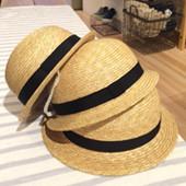 初夏の日よけをオシャレに楽しむ帽子のご紹介