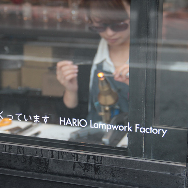 upcoming exhibition<br>「HARIO Lampwork Factory FAIR」