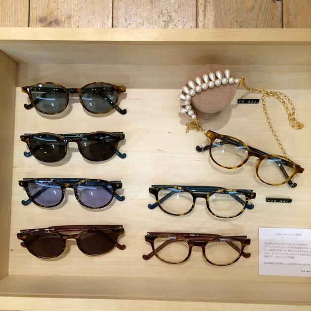 「JUJUBEE Reading glasses fair」札幌店でも開催中