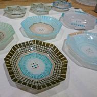 「竹中悠記 ガラス展」が始まりました。