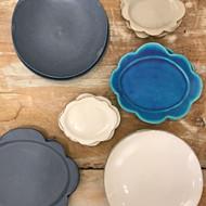「坂本和歌子 豆皿とお皿展」始まりました。