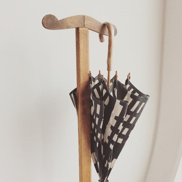堀井和子さんのテキスタイルで作った日傘