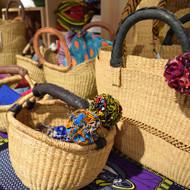 biga「西アフリカのかごと布」展 開催中