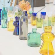 「TOUMEI」のガラス作品