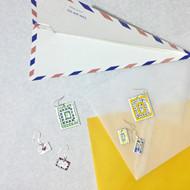 「SIRUP 琺瑯と切手」開催中
